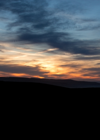 Sunrise over Skipton Moor