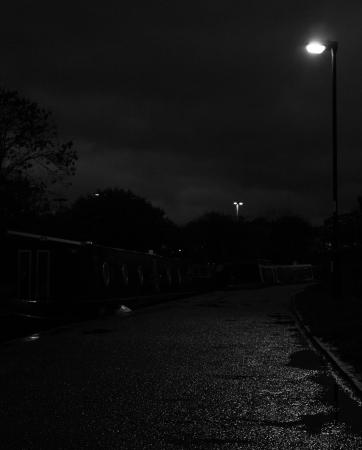Towpath at Night