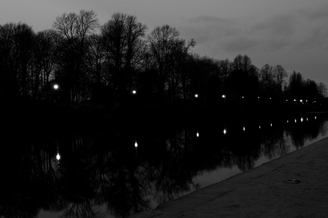 Lights along the Ouse