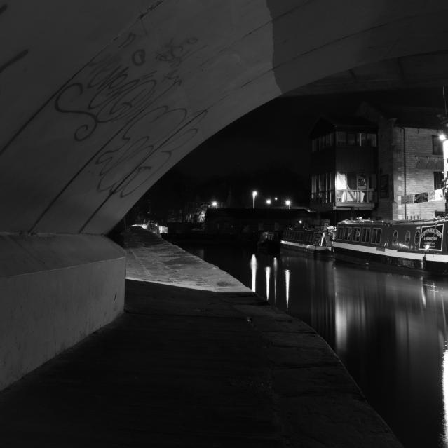 Under Belmont Bridge