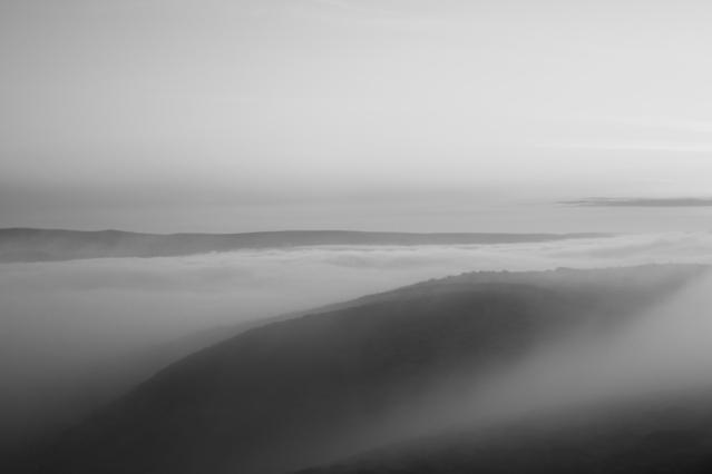 Skipton Moor in Fog
