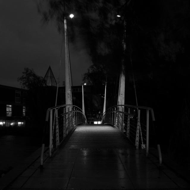 Campus at Night, 01